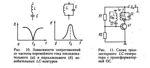 Схема источника тока напряжения частоты