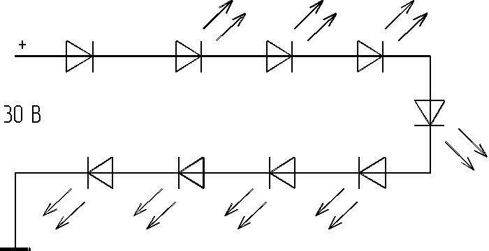 диодных ограничителей тока