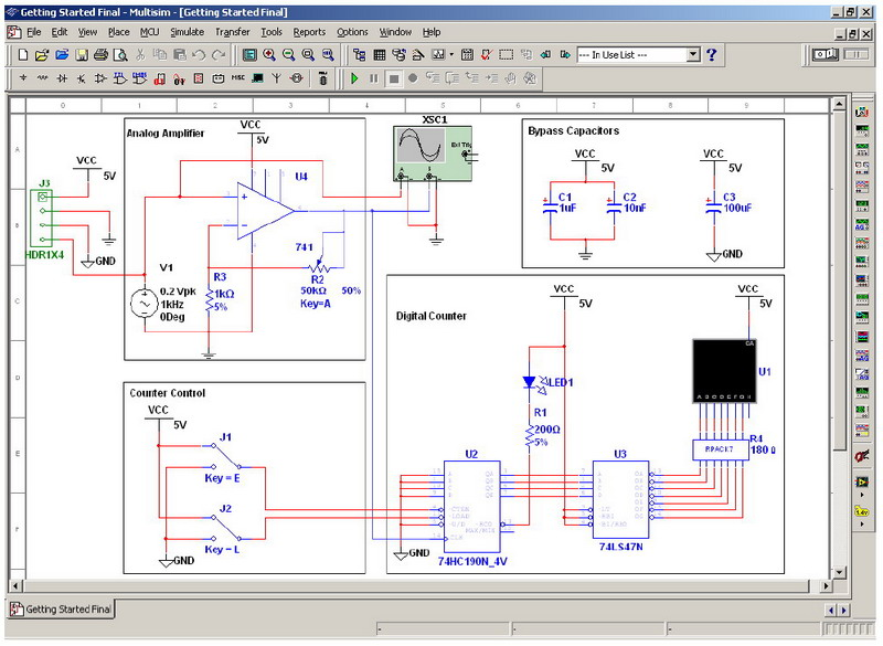 Electronics Workbench Offers Free Day Trial of Multisims 8
